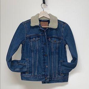 Levi's Sherpa collar Insulated Denim Jacket